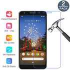 For Google Pixel 4 3a 3 2 XL/4/ 3a Premium Tempered Glass Screen Protector Saver