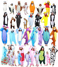 Adult Kids Animal Pajamas Kigurumi Cosplay Pyjama Robe Onesi0 Jumpsuit Anime