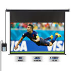 HD Electric Motorized Projector Screen / Portable Projector Screen / with Stand