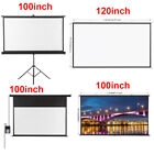 Kyпить HD Electric Motorized Projector Screen / Portable Projector Screen / with Stand на еВаy.соm