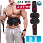 Abdominal Exercisers EMS Trainer ABS Muscle Toner Gym Abs Fitness Belt Durable image