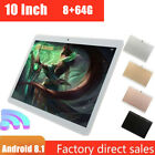 "10"" Tablet PC Android 8.1 HD 8G 64G Octa-Core Google WIFI 4G Dual Camera GPS"