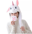 Animal Led Hat Ear Moving Rabbit Hat Cute Animal Ear Flap Hat With Paws