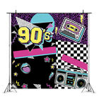 90s Photography Backdrop Hip Hop Birthday Party Dance Disco Photo Background