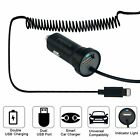 For Apple iPhone 6 6s 7 8 Plus XS Max XR LED Fast Charging Car Charger w/ Cable