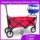80KG Heavy Duty Folding Foldable Hand Trolley Home Shopping Camping Truck Cart