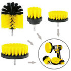 9PC Drill Brush Attachment Set Power Scrubber Cleaning Kit Combo Scrub Tub-Clean