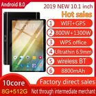 """10.1"""" inch 4G-LTE/WiFi Tablet HD 8+256 G Android 9.0 Dual Camera 10 Core Phablet"""