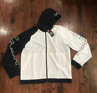 NWT 85 MENS UNDER ARMOUR BASELINE WOVEN FULL ZIP HOODED JACKET 1317413