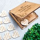Personalised Gift For Her Him Wooden Gift 10 Reasons Why I Love You Love Hearts