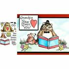 Christmas Halloween Animal Clear Stamps for Scrapbooking and Cards Making Paper