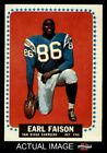 1964 Topps #157 Earl Faison Chargers Indiana 6 - EX/MT $3.75 USD on eBay