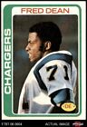 1978 Topps #217 Fred Dean Chargers LA Tech 5 - EX $3.75 USD on eBay