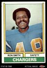 1974 Topps #45 Ron Smith Chargers San Diego St 5 - EX $0.99 USD on eBay