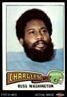 1975 Topps #335 Russ Washington Chargers Mizzou 5 - EX $0.99 USD on eBay