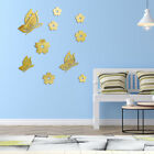 3d Butterfly Wall Stickers Mirror Decals Mural Home Room Decor 6n