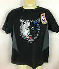 Minnesota Timberwolves Youth T-Shirt Black  Majestic Size: Medium or Small image