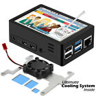 "Raspberry Pi 4 Model B ABS Case Kit 3.5"" Touch Screen 480*320 with Cooling Fan"