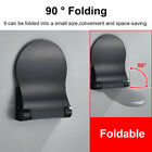 Bath Shower Foot Rest Aluminum Alloy Foldable Foot Rest Step For Home Bathroom