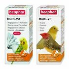 Beaphar Caged Aviary BIRD MULTI VITAMIN DROPS Liquid Supplement 12 Vitamins 20ml