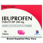 Ibuprofen 200mg Tablets Pain Relief Tablets | Pack of 16 | MAX 2 Packs/Order £2.25 GBP on eBay