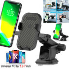 Universal Car 360° Windshield Mount Phone Holder Stand for iPhone 11 Samsung GPS
