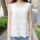 Womens Summer Floral Sleeveless Vest T Shirt Blouse Ladies Casual Tank Tops Tee