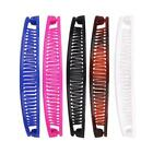 Plain Colour Banana Hair Comb Clips Hair Grips Fashion Accessories C1n6 Hai K0x9