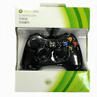1pc Genuine Wired Microsoft Xbox 360 Gaming Game Controller Green Box