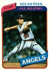 1980 Topps Baseball Pick Complete Your Set #501-726 RC Stars ***FREE SHIPPING***