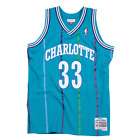 Alonzo Mourning Charlotte Hornets Hardwood Throwback NBA Swingman Jersey on eBay