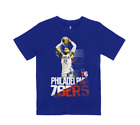 Ben Simmons Philadelphia 76ers Boys Splash Screen NBA T-Shirt on eBay