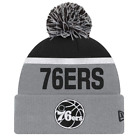 Philadelphia 76ers Monochrome Pom Knit NBA Beanie on eBay