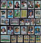 1978 Topps Baseball Cards Complete Your Set You U Pick From List 499-726
