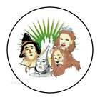 """30 WIZARD OF OZ ENVELOPE SEALS LABELS STICKERS PARTY FAVORS 1.5"""" ROUND"""