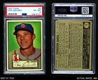1952 Topps #4 Don Lenhardt Red Sox PSA 6 - EX/MT