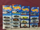 Hot Wheels blister Packs 1995  to  1998   Cars are Mint on Card Series