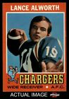 1971 Topps #10 Lance Alworth Chargers 6 - EX/MT $3.75 USD on eBay