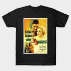 Vintage The 39 Steps Murder Mystery Thriller Movie Poster Black T-shirt S-6XL image