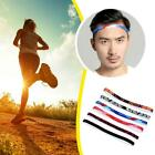 Unisex Sport Sweat Guide Sweatband Perspire Yoga Head Band Belt Silicone