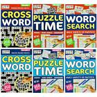 A5 Puzzle Book Child & Adult Activity Home School Wordsearch Sudoku Crossword