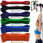 Resistance Bands Heavy Duty Assisted Band Pull Up Set Fitness Exercise Loop Tube image