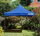 BULHAWK® 3x3m QUANTUM 30 HEAVY DUTY  POP UP GAZEBO GARDEN SUN SHADE PARTY TENT