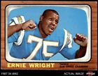 1966 Topps #131 Ernie Wright Chargers Ohio St 4 - VG/EX $7.75 USD on eBay