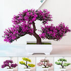 Fake Artificial Pot Plant Bonsai Potted Pine Tree Home/office Display Decor Prop