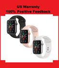 Apple Watch Series 5 GPS Gold Gray Silver 40mm 44mm Pink Black White Sport Band