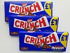 2 or 4 Nestle Dairy Crunch 100g chocolate bars