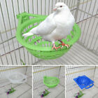 Pigeon Plastic Dehumidification Breeding Bird Egg Basin Nest Bowl With Mat Parts