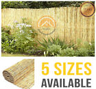 Natural Reed Fence Screening Roll Garden Privacy 4m Length 5 Sizes Fencing Panel