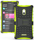 NEW GRENADE GRIP RUGGED TPU SKIN HARD CASE COVER STAND FOR NOKIA XL PHONE